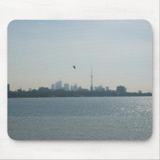 Una vista de Toronto Tapetes De Ratón