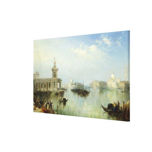 Una vista de Venecia Impresiones De Lienzo