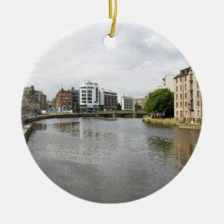 Una vista del agua de Leith Ornamento Para Reyes Magos