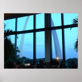 Una vista del arco de la entrada - St. Louis, Miss Impresiones