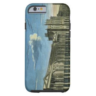 Una vista del Banco de Inglaterra, calle de Funda Para iPhone 6 Tough