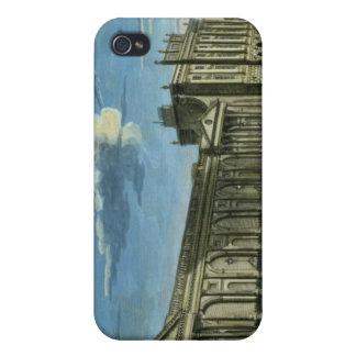 Una vista del Banco de Inglaterra, calle de Thread iPhone 4/4S Carcasa