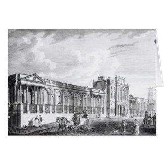 Una vista del Banco de Inglaterra Tarjeta De Felicitación
