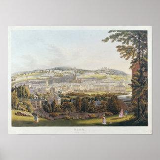 Una vista del baño, 1817 posters