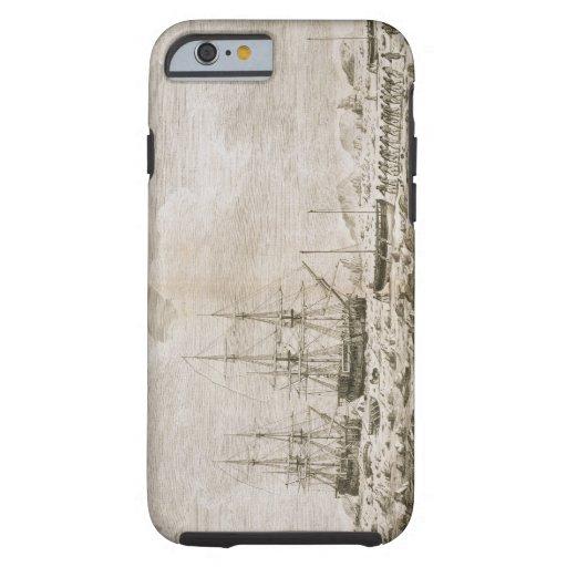 """Una vista del """"caballo de carreras"""" y de la """"res funda de iPhone 6 tough"""