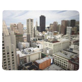 Una vista del horizonte de San Francisco Cuaderno Grapado