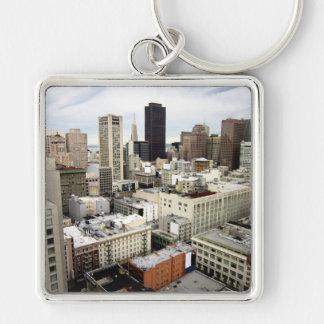 Una vista del horizonte de San Francisco Llavero Personalizado