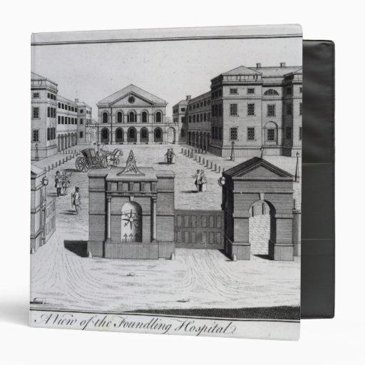 Una vista del hospital de expósito, 1756