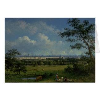 Una vista del parque del regente tarjeta de felicitación