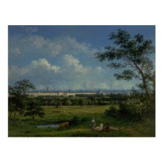 Una vista del parque del regente tarjeta postal
