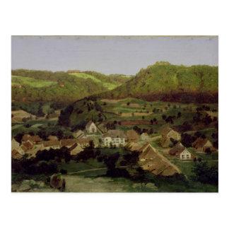 Una vista del pueblo de Tenniken, 1846 Tarjetas Postales