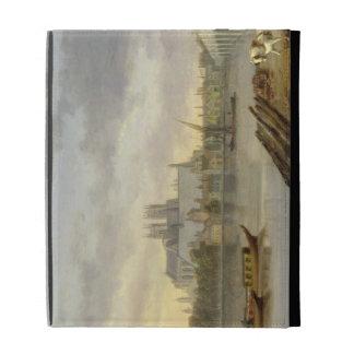 Una vista del puente de Westminster y de la abadía