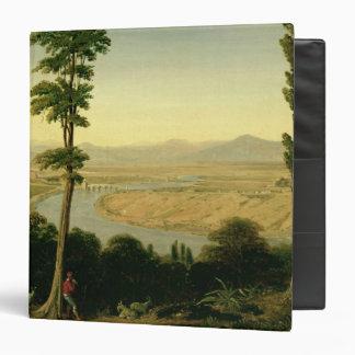 """Una vista del Tíber y de la Campaña romana Carpeta 1 1/2"""""""