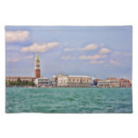 Una vista fotografía Placemat de Venecia, Italia H Manteles