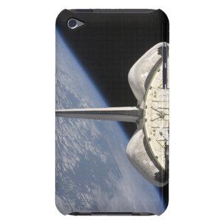 Una vista parcial del esfuerzo del transbordador funda iPod