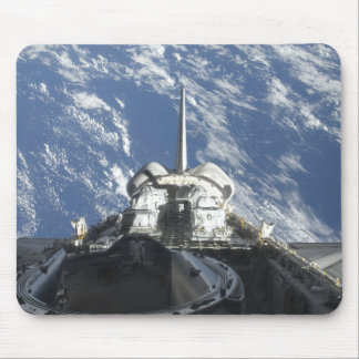 Una vista parcial del transbordador espacial la At Tapete De Ratones
