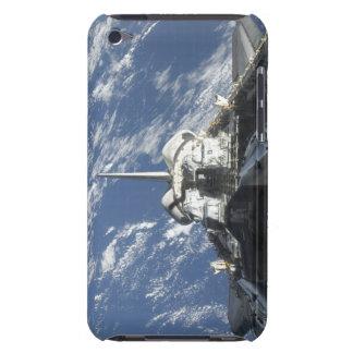 Una vista parcial del transbordador espacial la funda para iPod de barely there