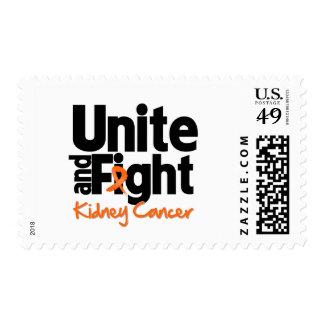 Una y luche al cáncer 2 del riñón franqueo