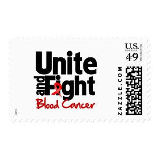 Una y luche al cáncer de sangre envio