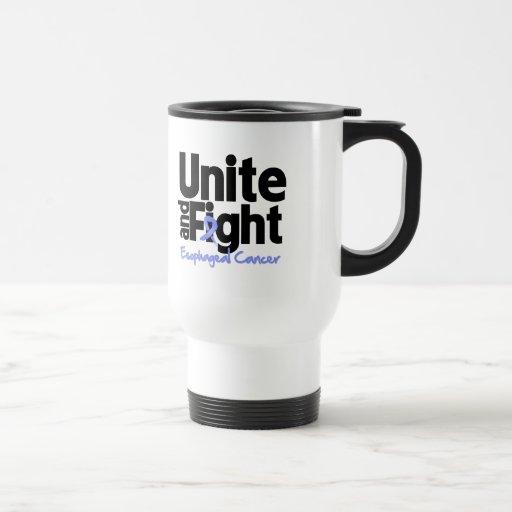 Una y luche al cáncer del esófago tazas de café