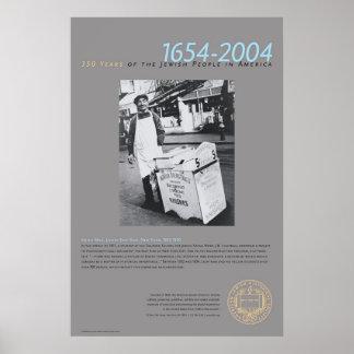 Una zona este más baja Nueva York 1925-1950 del ho Póster