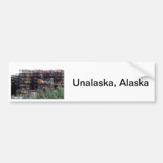 Unalaska Alaska Etiqueta De Parachoque