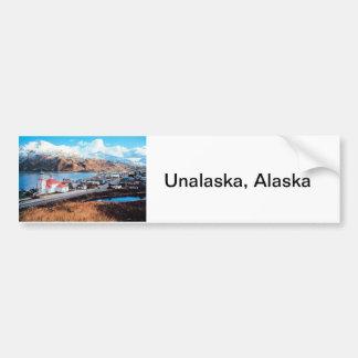 Unalaska Alaska Pegatina De Parachoque