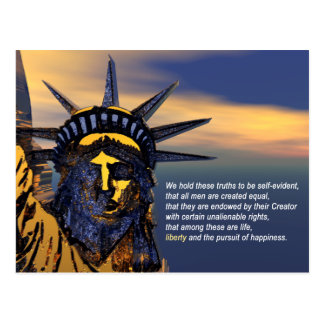 Unalienable Rights Post Card
