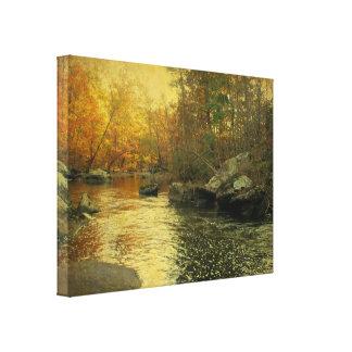 Unami Creek at Sunset Canvas Print