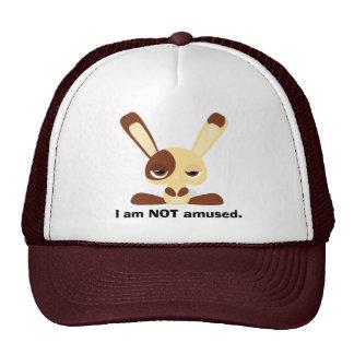 Unamused Bunny Trucker Hat