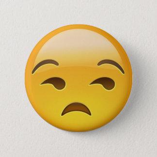 Unamused Face Emoji Button