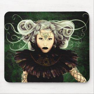 Unamused Gothic Art Mouse Pad mousepad