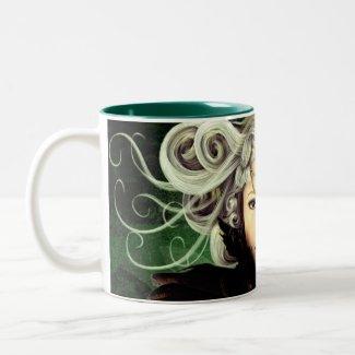 Unamused Gothic Art Mug mug