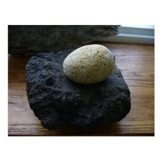 Unangan Grinding Stone, Unalaska Island Postcards