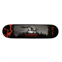 unanimated bored skateboard deck