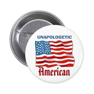 Unapologetic American 2 Inch Round Button