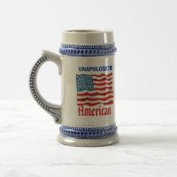 Unapologetic American mug