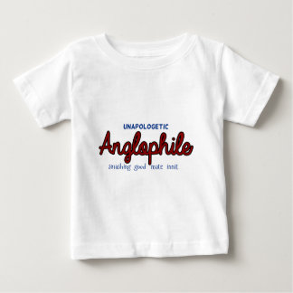 Unapologetic Anglophile Baby T-Shirt