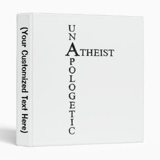 Unapologetic Atheist Binder