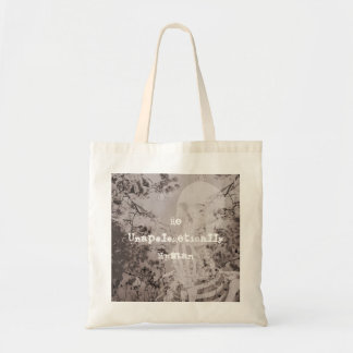 Unapologetically Human-B/W Tote