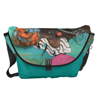 Unapologetically LARGE Messenger Bag Outside Print