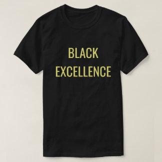 Unapologetically negro: Excelencia negra Playera