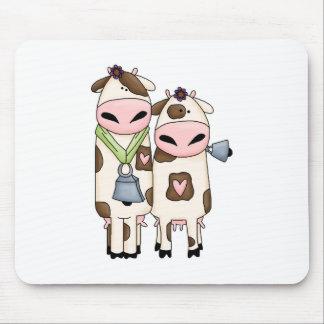 unas par de vacas lindas del MOO Mousepad