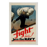 Únase a a la marina de guerra impresiones
