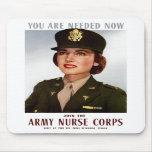 Únase a al cuerpo de enfermera del ejército alfombrilla de raton