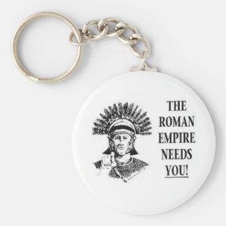 Únase a al ejército - imperio romano llavero redondo tipo pin
