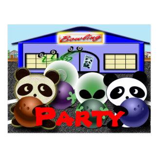 Únase a al fiesta tarjetas postales