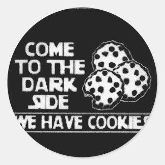 Únase a al pegatina del lado oscuro