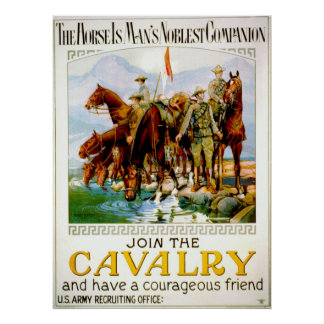 Únase a la caballería 1920 impresiones