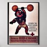Únase a la clase de la nutrición de la Cruz Roja Impresiones